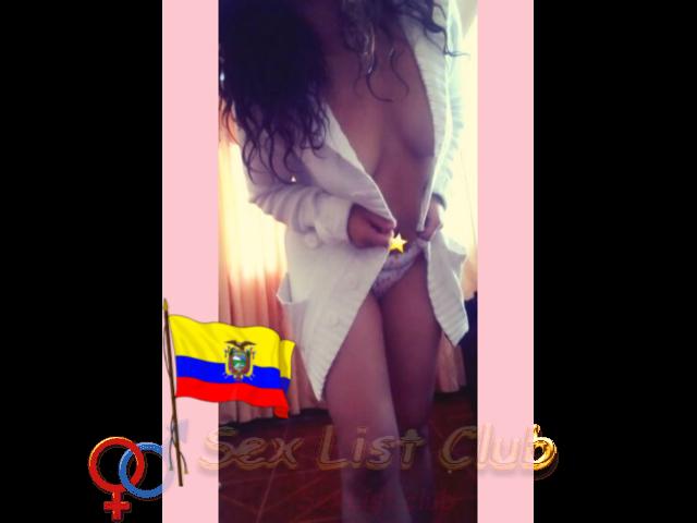 Estreno en Quito Preciosa ECUATORIANA ejecutiva fotos caceras reales